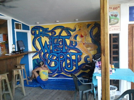The Buena Vida: Mural in progress!