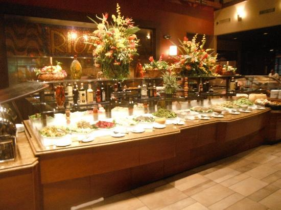 Rioz Brazilian Steakhouse Salad Bar