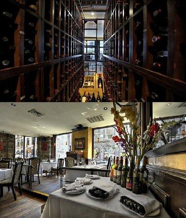 Vieux-Port Steakhouse: Wine cellar