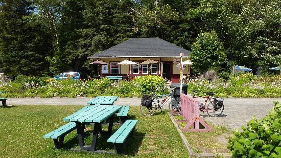 Val Morin, Canada : Une partie de la terrasse