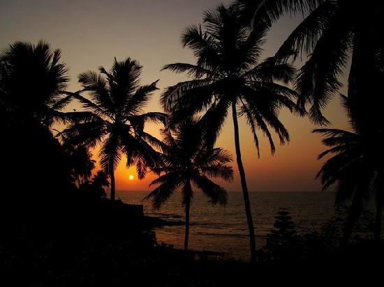 Taj Fort Aguada Resort & Spa, Goa: Coucher de soleil sur le Vivanta by Taj Fort Aguada