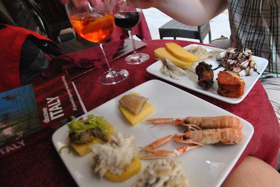 El Sbarlefo: Cicheti and Spritz