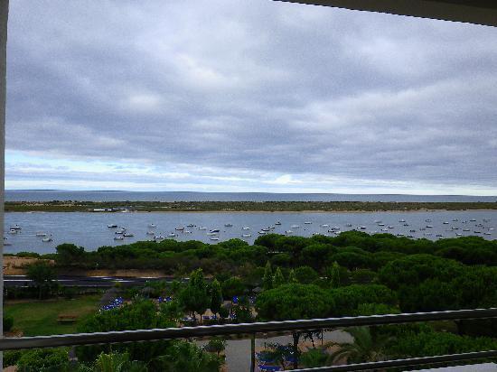 Playacartaya Spa Hotel: vista desde la habitacion