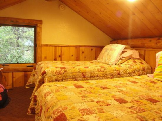 Budges' Slide Lake Cabins: loft