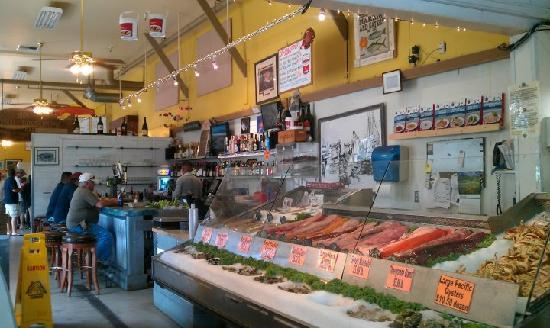 fresh seafood counter picture of phil 39 s fish market and