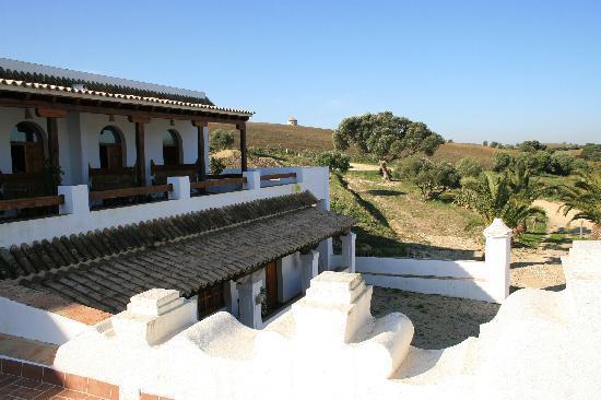 El Palomar de la Brena: Terrace first floor rooms