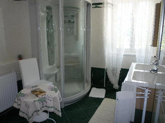 Bianzone, Italië: Bagno stanza gialla