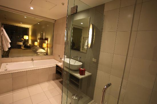 "The Rees Hotel & Luxury Apartments: ""downgraded"" room with bath"