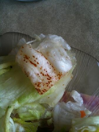 Sweet Basilico Cafe : lettuce on salad