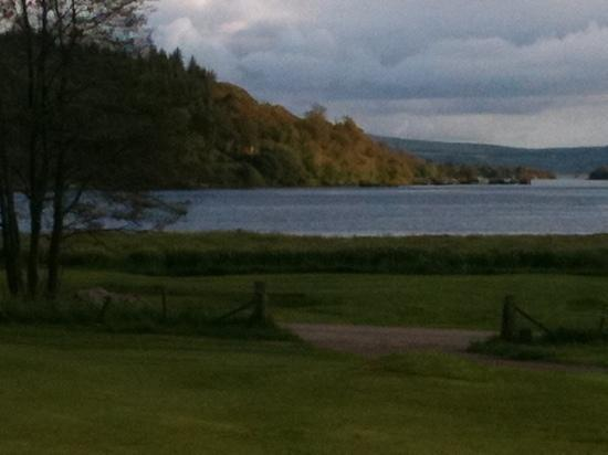 Tarbert Golf Club: view from the 9th