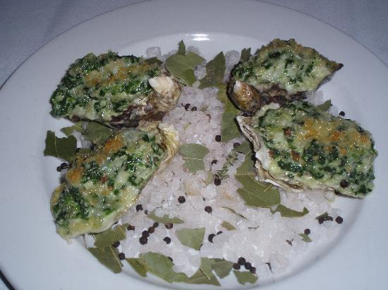 Victorian Dining Room & Garden Room: Crab and Oysters Mendocino