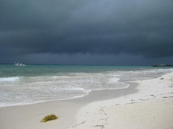 Secrets Capri Riviera Cancun: Storm rolling in
