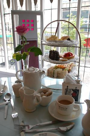 Afternoon Tea Glasgow Willow Tea Rooms