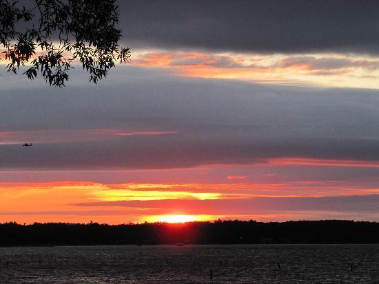 Pinestead Reef Resort: Beautiful sunsets