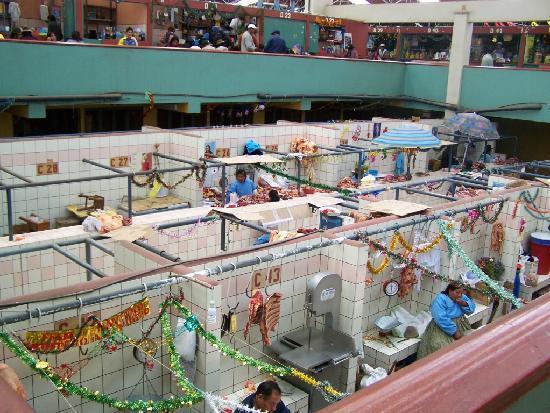 Puno, Peru: El mercado central