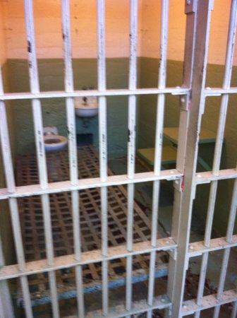 A cell from Alcatraz