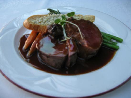 Filet Mignon Dinner - Picture of Napa Valley Wine Train ...