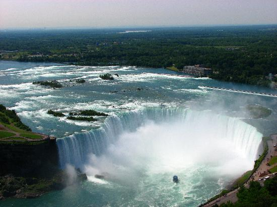 View From My Room 25th Floor Canadian Side Horseshoe Falls Picture Of Hilton Niagara Falls Fallsview Hotel Suites Tripadvisor