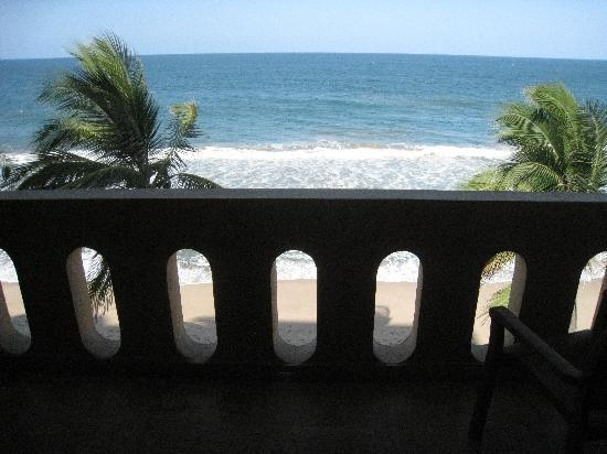 Torres Mazatlan Resort: the view from the room