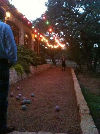 the bocce ball court picture of trattoria lisina driftwood