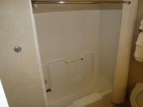 Comfort Suites Longview : Shower