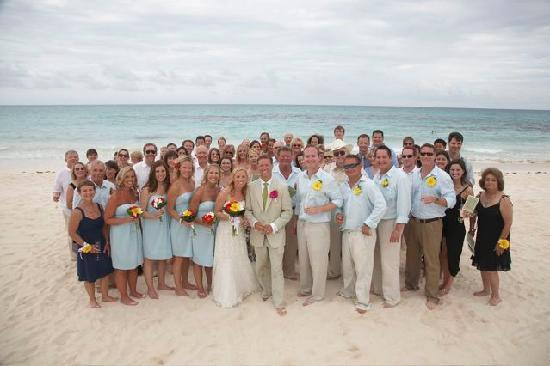 Iberostar Paraiso Maya Our Wedding Party