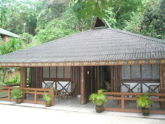 Dakak Park & Beach Resort: the beach cottages