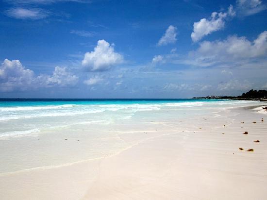 Kore Tulum Retreat and Spa Resort: Playa Paraiso (North of hotel)
