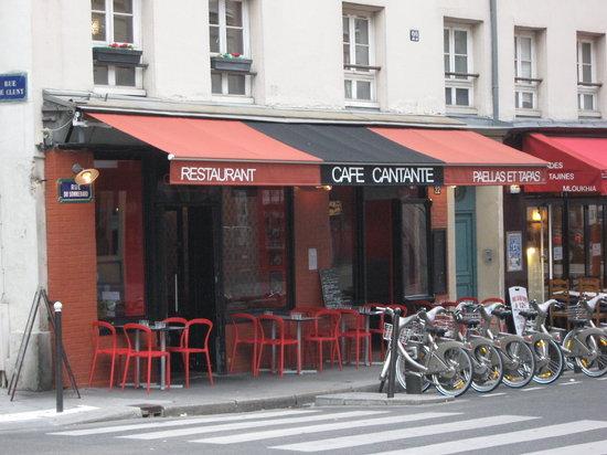 Cafe Cantante: Cafe Facade