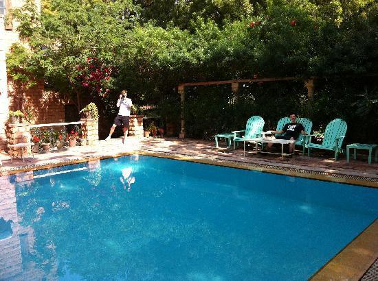 Swimming pool at Devi Bhawan