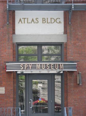 International Spy Museum: The museum entrance