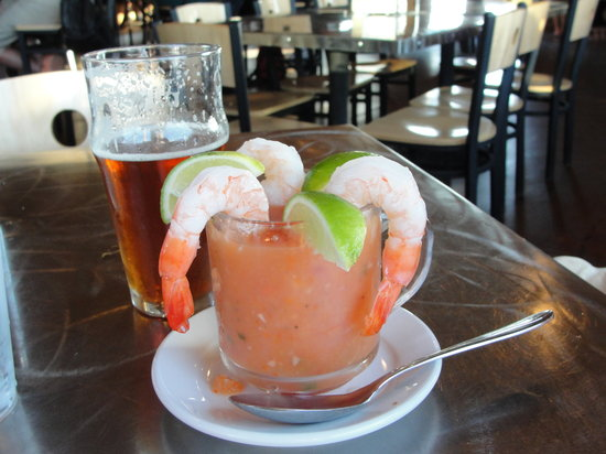 Wildlife Brewing & Pizza : Yummy watermelon gazpacho!