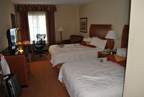Hilton Garden Inn Huntsville/Space Center: Room with 2 queens