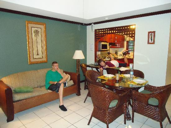 Pueblo Real: Our living room