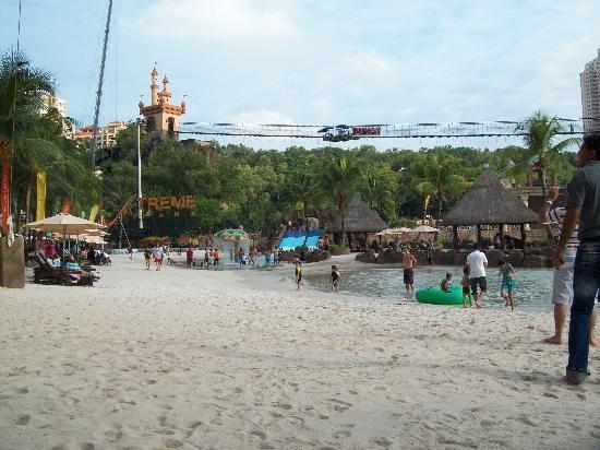 Sunway Lagoon : Flying Fox if you dare
