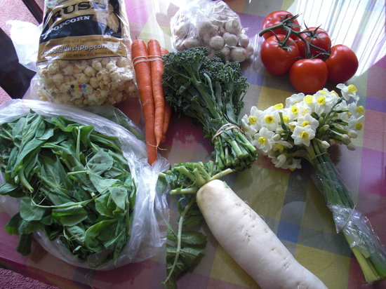 Berressa Farmers Market: My goodies from the trip