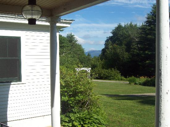Woodbound Inn: view from porch