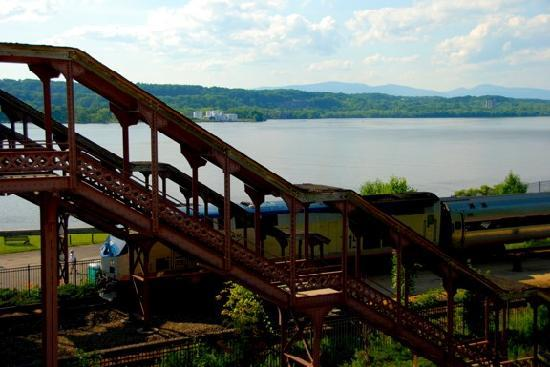 The Rhinecliff: View from our room