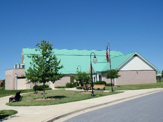 Monocacy National Battlefield: Monocacy visitor center / museum