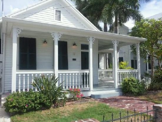 The Conch House Heritage Inn: this house at 623 Truman is where the Delaney Suite is located in back