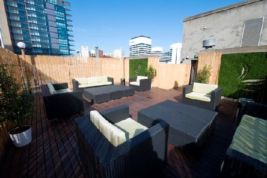 Pensione Hotel Melbourne - by 8Hotels: Rooftop Sundeck