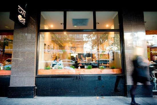 เพนซิโอเน บูติค โฮเต็ล เมลเบิร์น: Cafe Window
