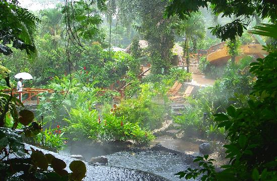 Tabacon Thermal Resort & Spa: The hot springs