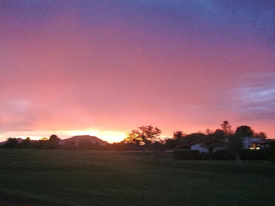 Tubac Golf Resort & Spa: Arizona sunset
