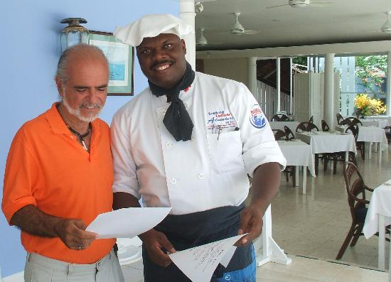 Jamaica Inn: Chef Mullings