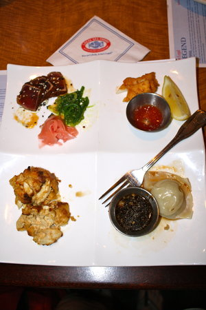 Legal Sea Foods: The Legal Experience appetizer