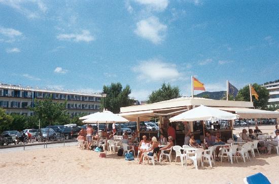 Platja Gran: Beach bar