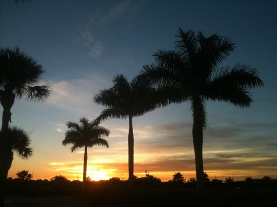 Flip Flop Cottages: Sarasota sunset