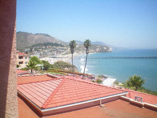 Custom House: Looking down on the little town of Avila Beach