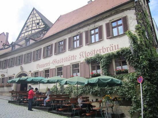 Klosterbrau Bamberg Gaststatte : Outside